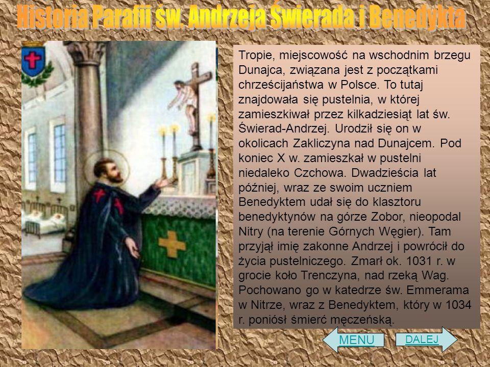 Historia Parafii św. Andrzeja Świerada i Benedykta