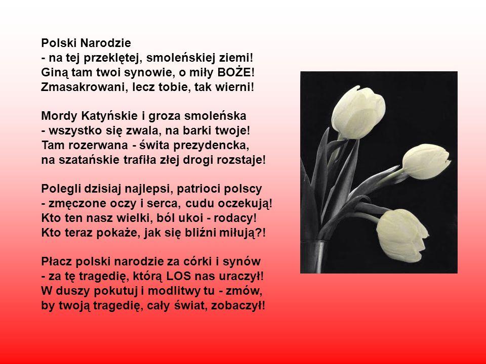 Polski Narodzie - na tej przeklętej, smoleńskiej ziemi