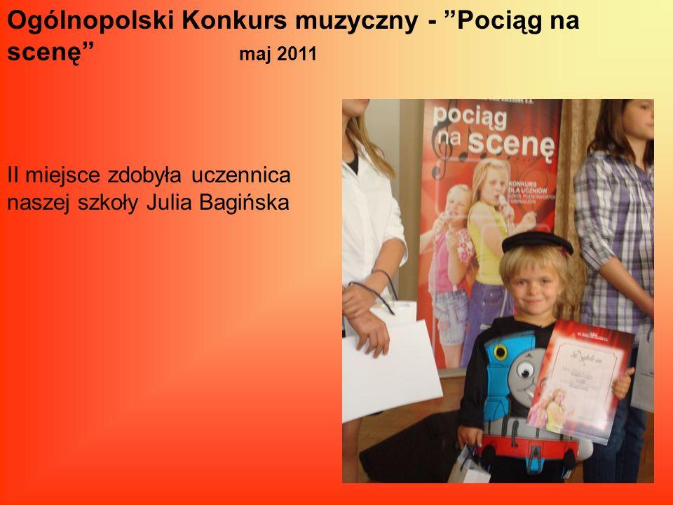 Ogólnopolski Konkurs muzyczny - Pociąg na scenę maj 2011