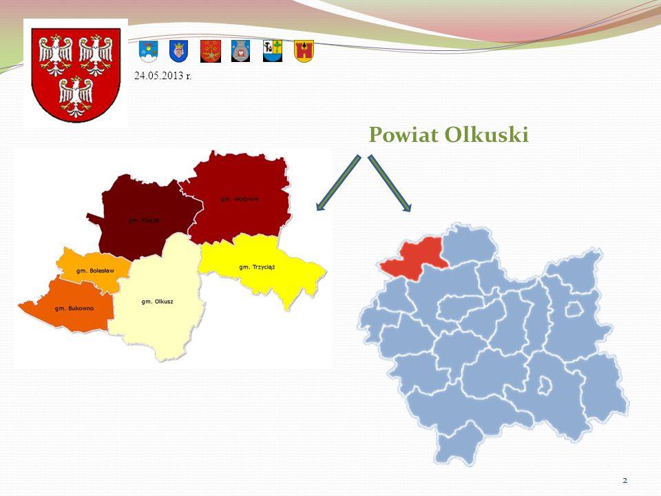 24.05.2013 r. Powiat Olkuski