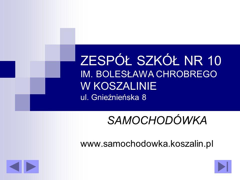 SAMOCHODÓWKA www.samochodowka.koszalin.pl