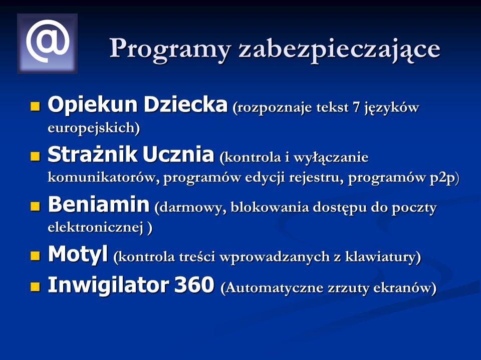 Programy zabezpieczające