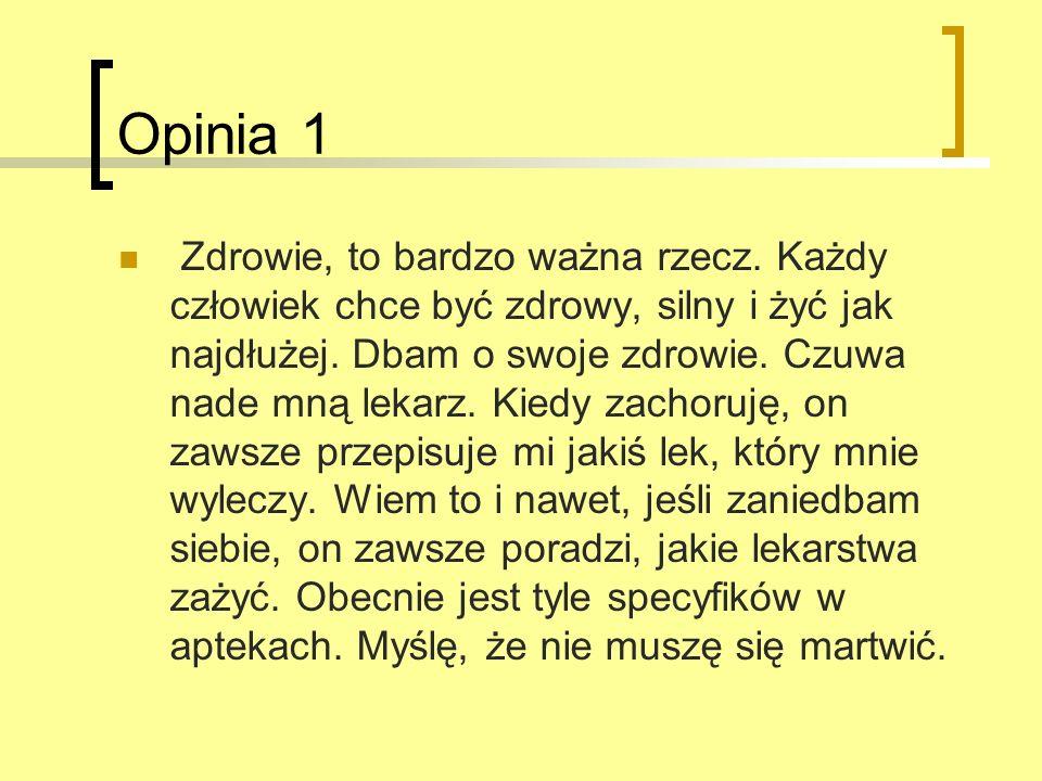 Opinia 1