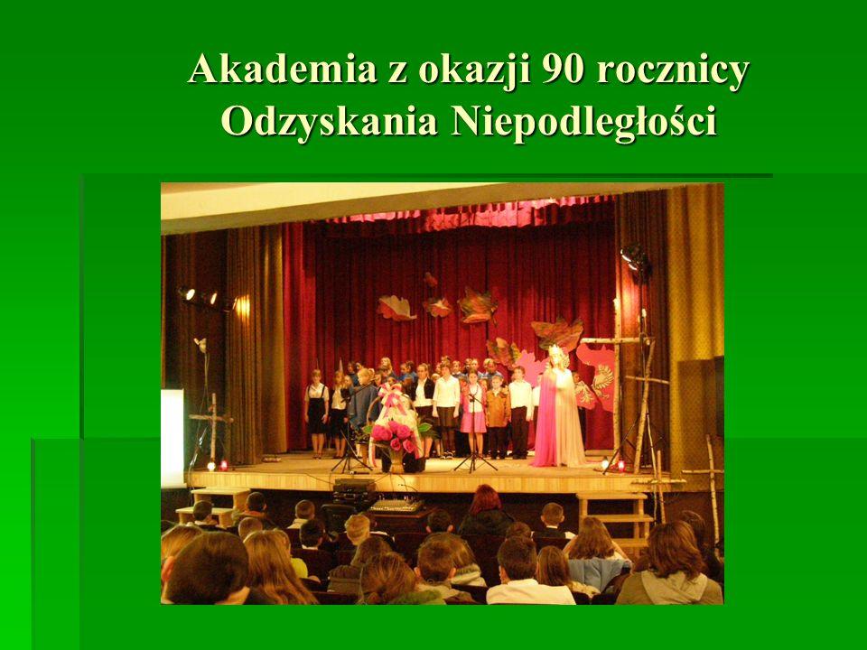 Akademia z okazji 90 rocznicy Odzyskania Niepodległości