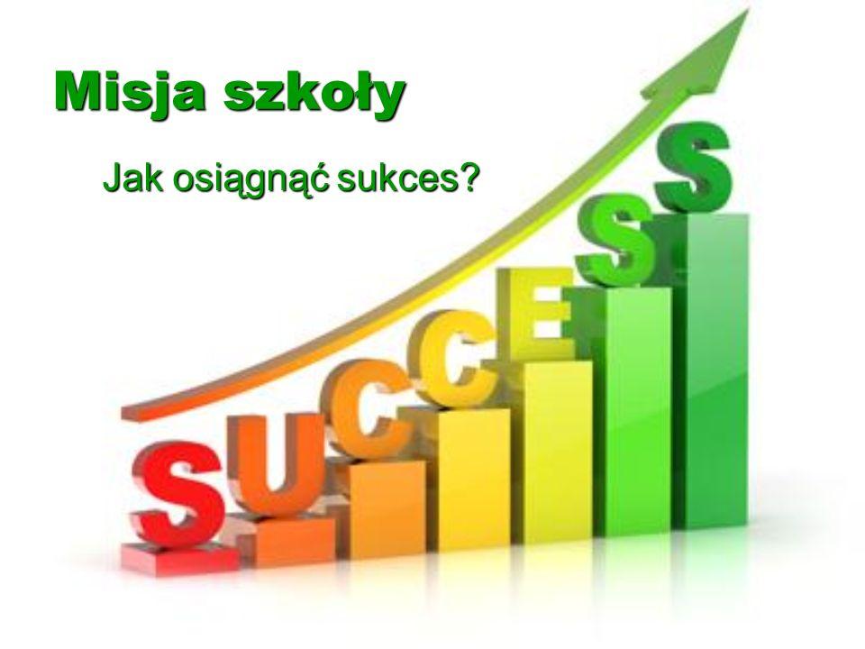 Misja szkoły Jak osiągnąć sukces