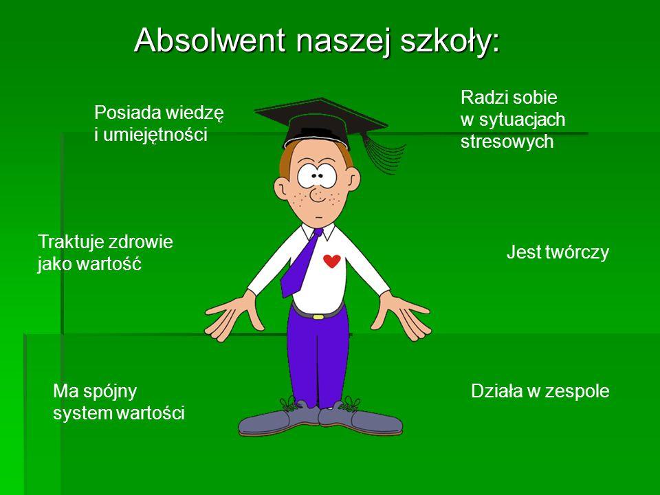 Absolwent naszej szkoły: