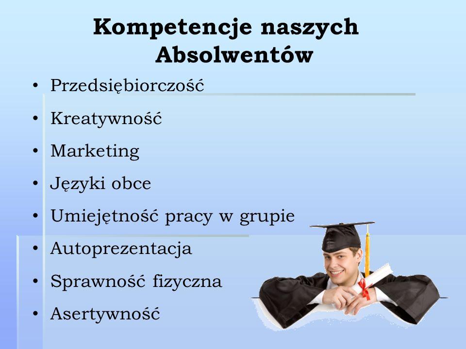Kompetencje naszych Absolwentów
