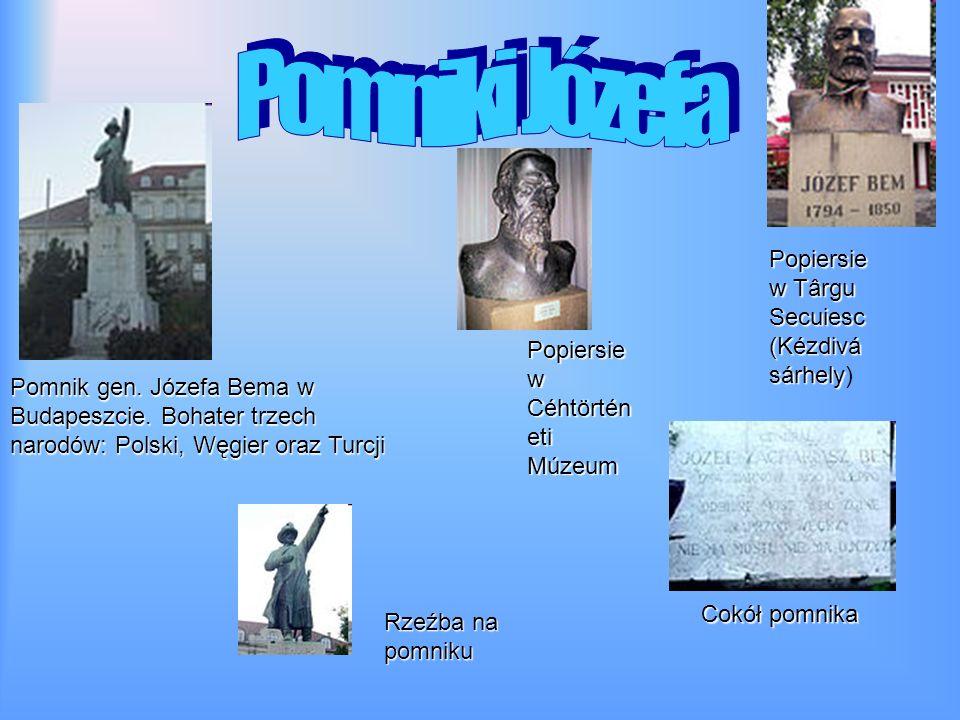 Pomniki Józefa Popiersie w Târgu Secuiesc(Kézdivásárhely)