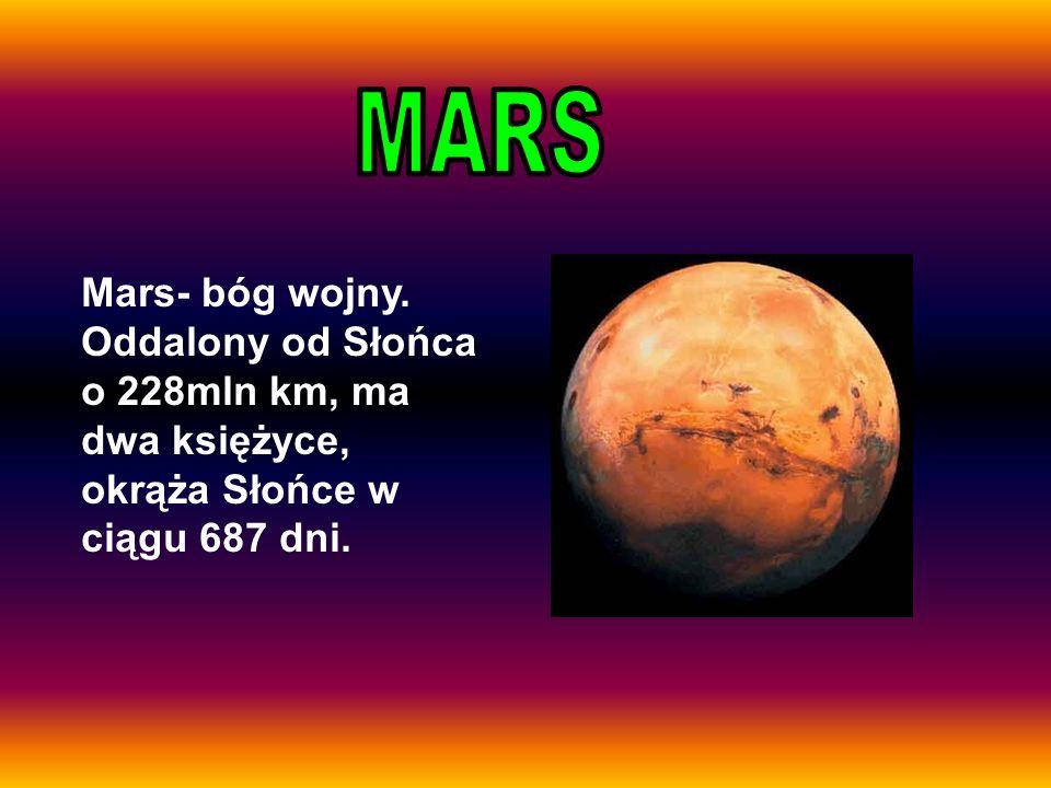 MARS Mars- bóg wojny.