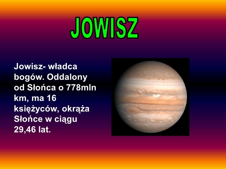JOWISZ Jowisz- władca bogów.