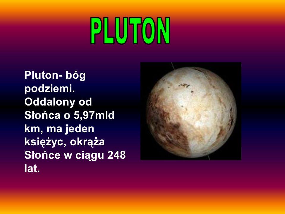 PLUTON Pluton- bóg podziemi.