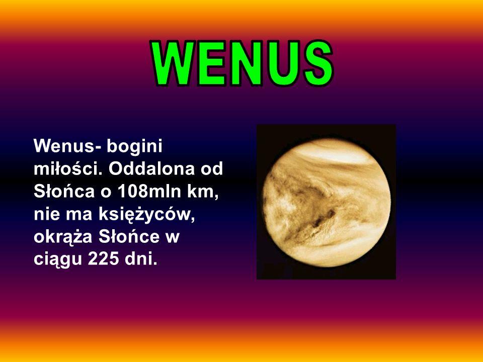 WENUSWenus- bogini miłości.