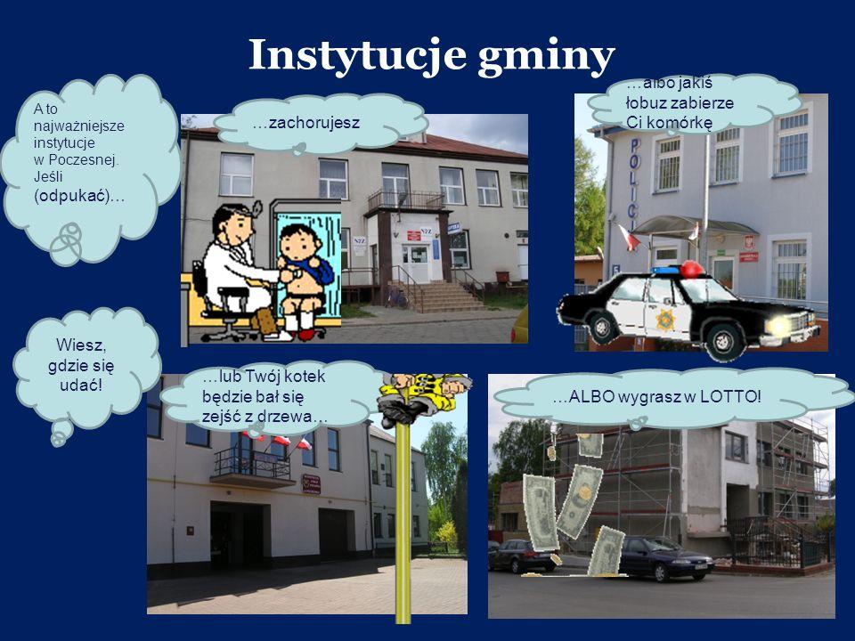 Instytucje gminy …albo jakiś łobuz zabierze Ci komórkę …zachorujesz