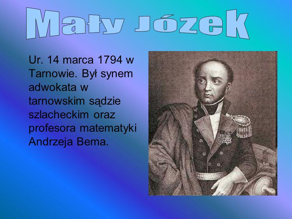 Mały Józek Ur. 14 marca 1794 w Tarnowie.