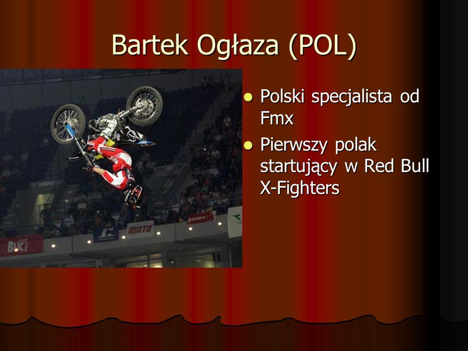 Bartek Ogłaza (POL) Polski specjalista od Fmx