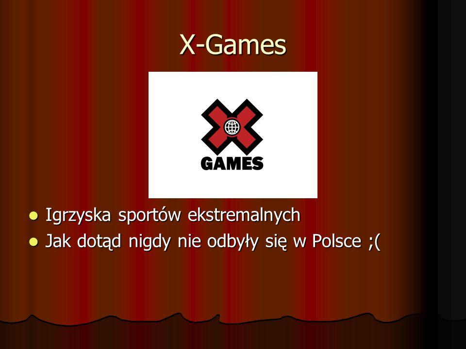 X-Games Igrzyska sportów ekstremalnych