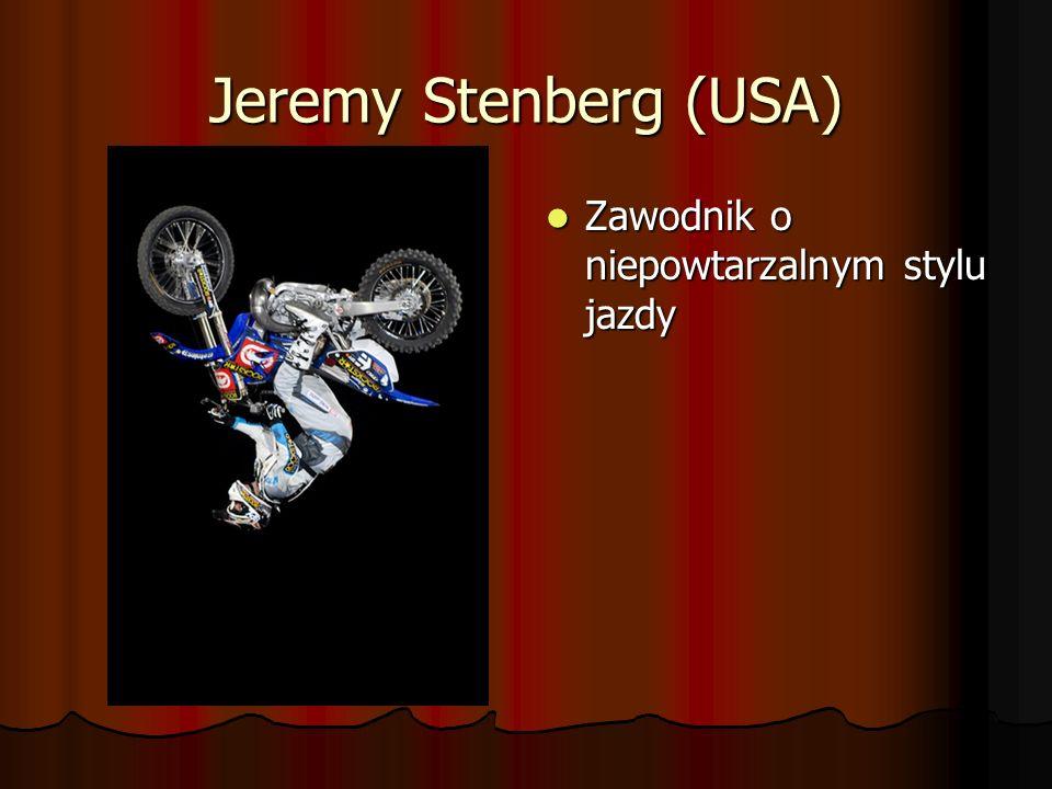 Jeremy Stenberg (USA) Zawodnik o niepowtarzalnym stylu jazdy