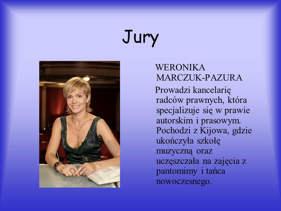 Jury WERONIKA MARCZUK-PAZURA