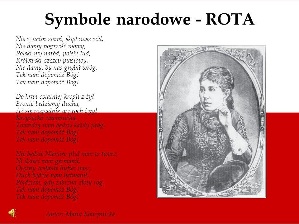 Symbole narodowe - ROTA