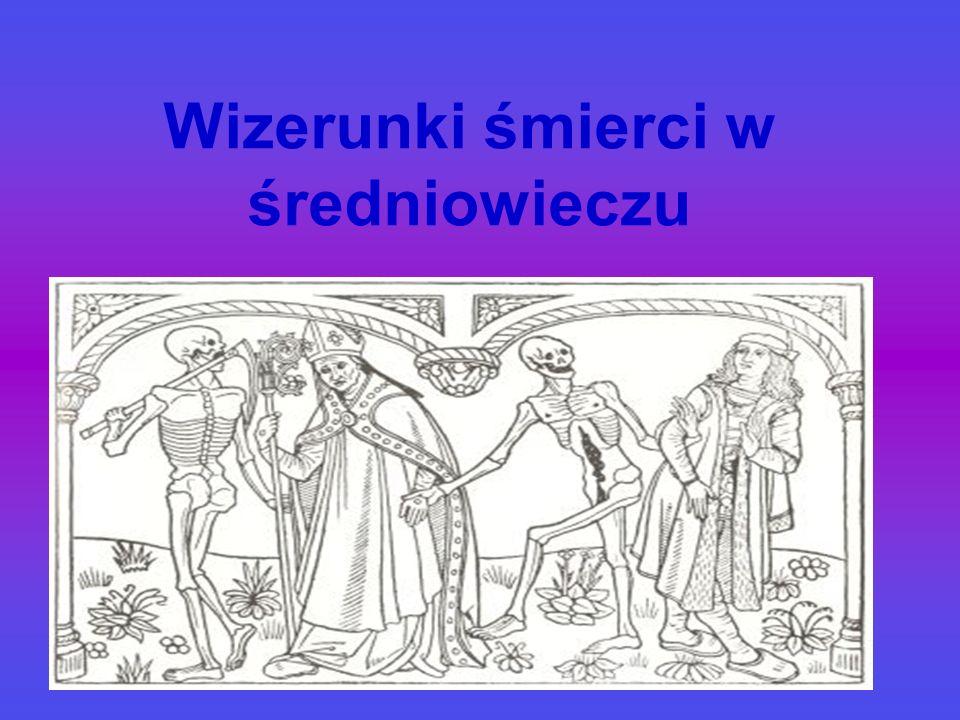 Wizerunki śmierci w średniowieczu