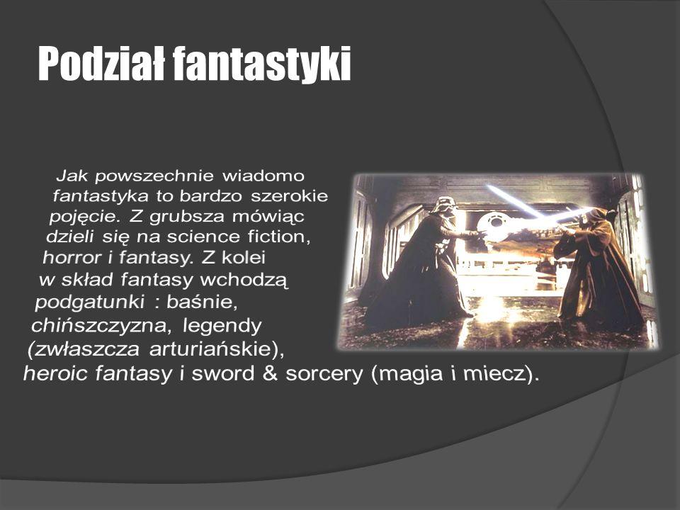 Podział fantastyki