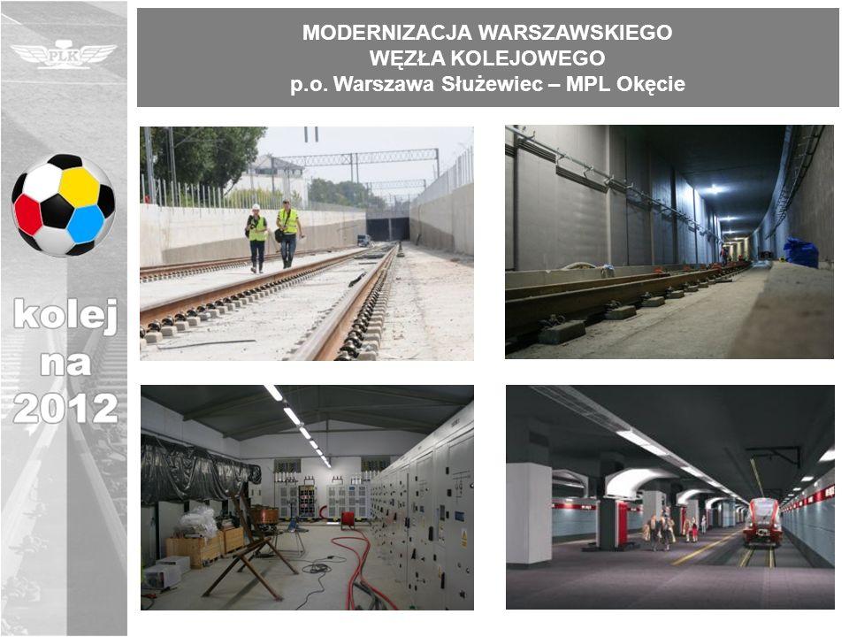 MODERNIZACJA WARSZAWSKIEGO p.o. Warszawa Służewiec – MPL Okęcie
