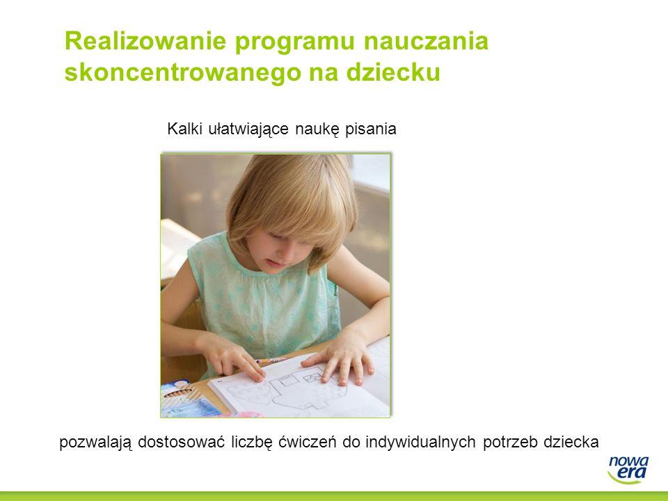 Realizowanie programu nauczania skoncentrowanego na dziecku