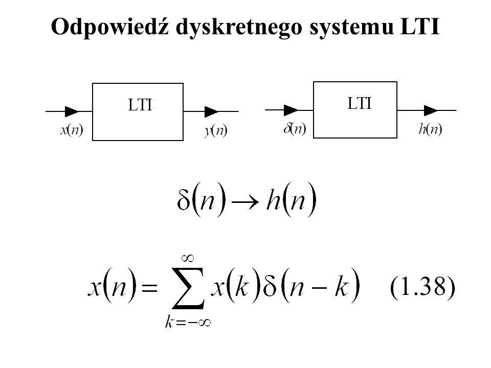 Odpowiedź dyskretnego systemu LTI