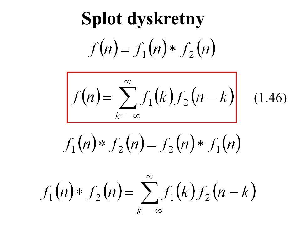 Splot dyskretny (1.46)