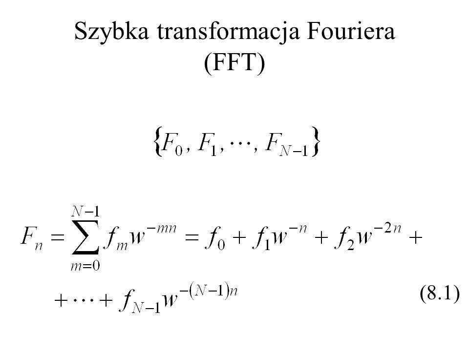 Szybka transformacja Fouriera (FFT)