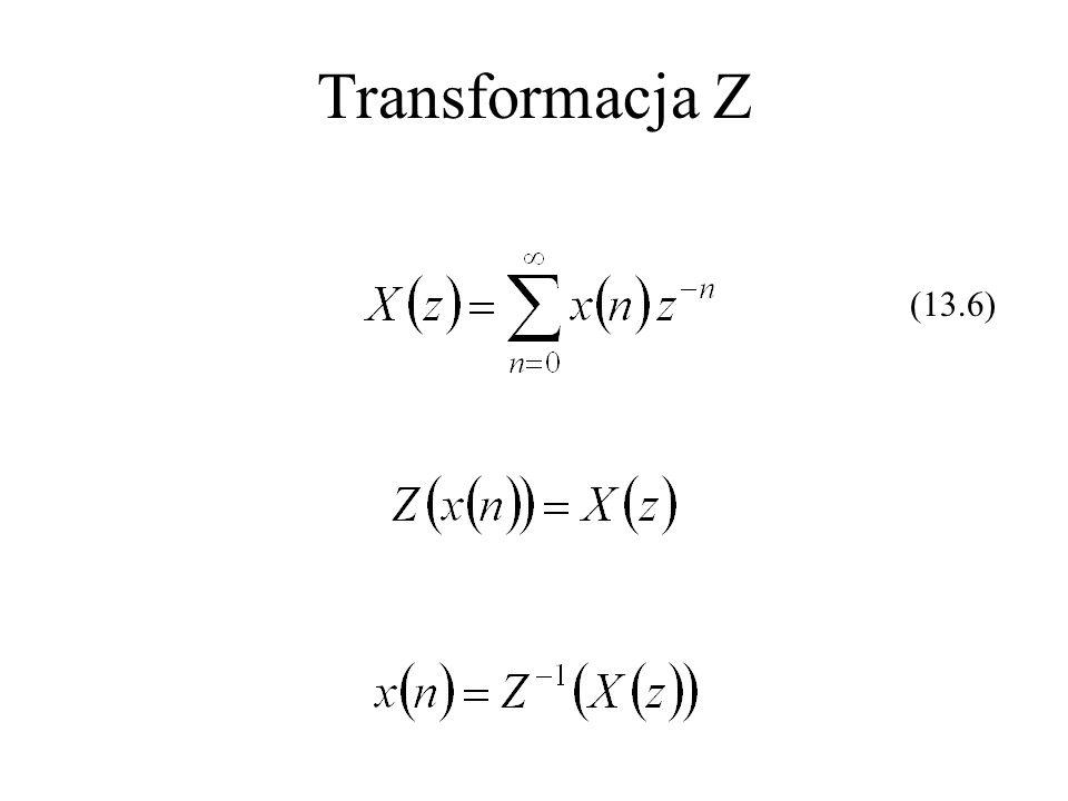 Transformacja Z (13.6)