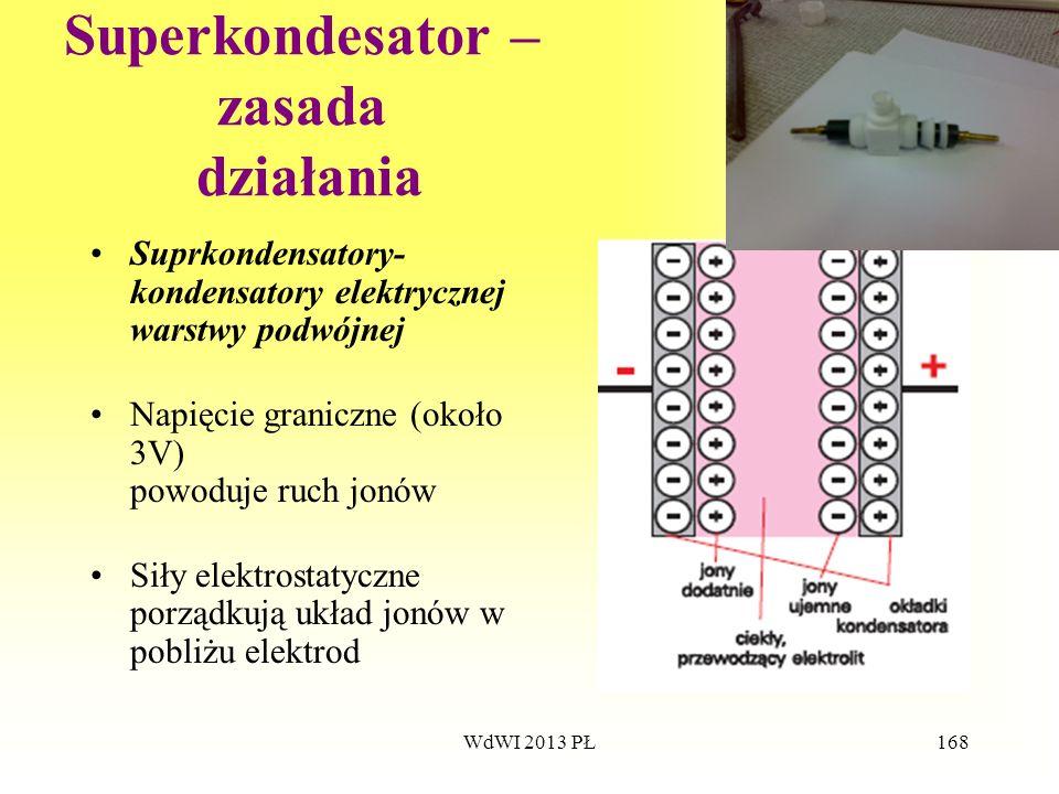Superkondesator – zasada działania