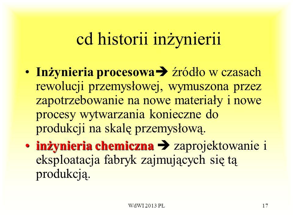 cd historii inżynierii