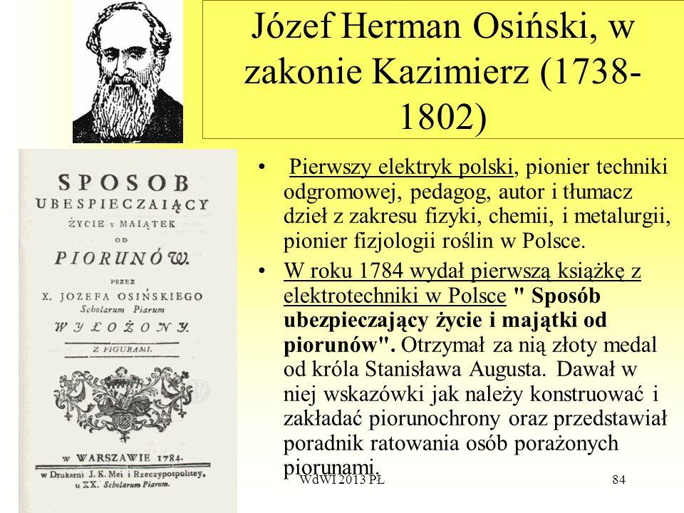 Józef Herman Osiński, w zakonie Kazimierz (1738-1802)