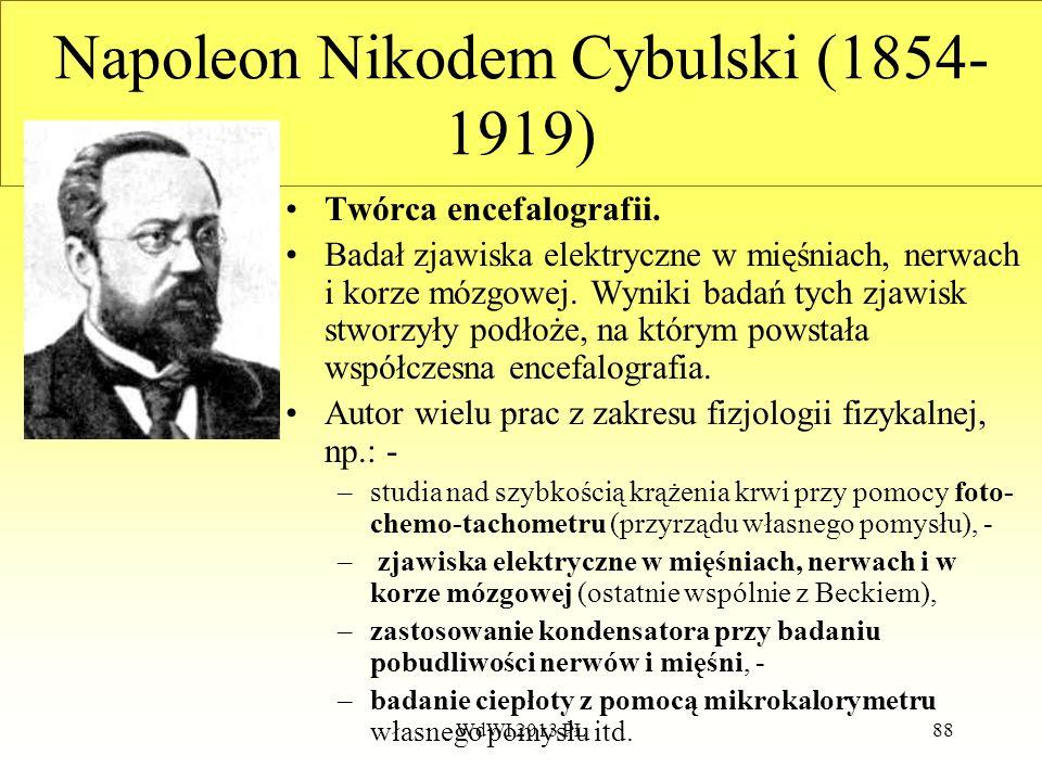 Napoleon Nikodem Cybulski (1854-1919)