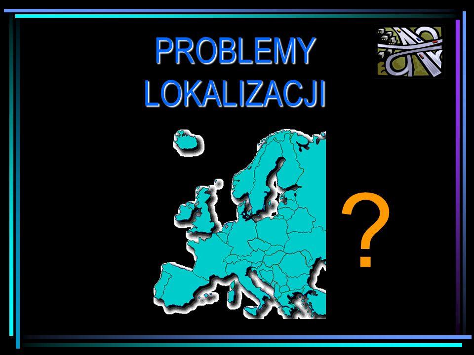 PROBLEMY LOKALIZACJI