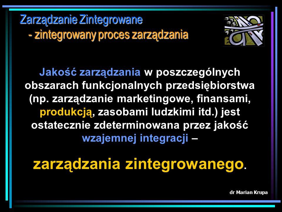 zarządzania zintegrowanego.