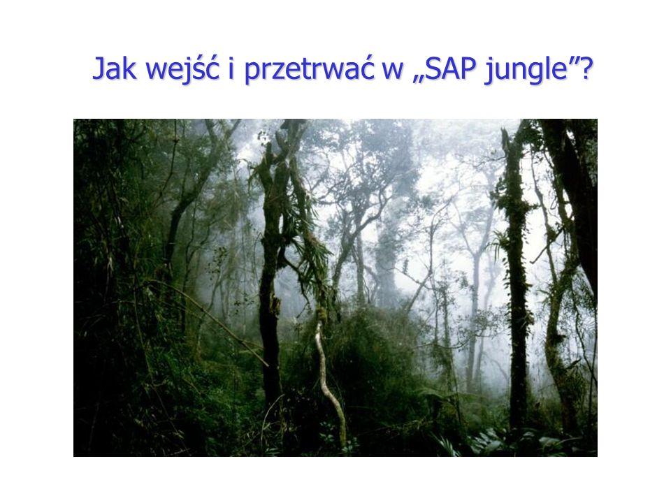 """Jak wejść i przetrwać w """"SAP jungle"""