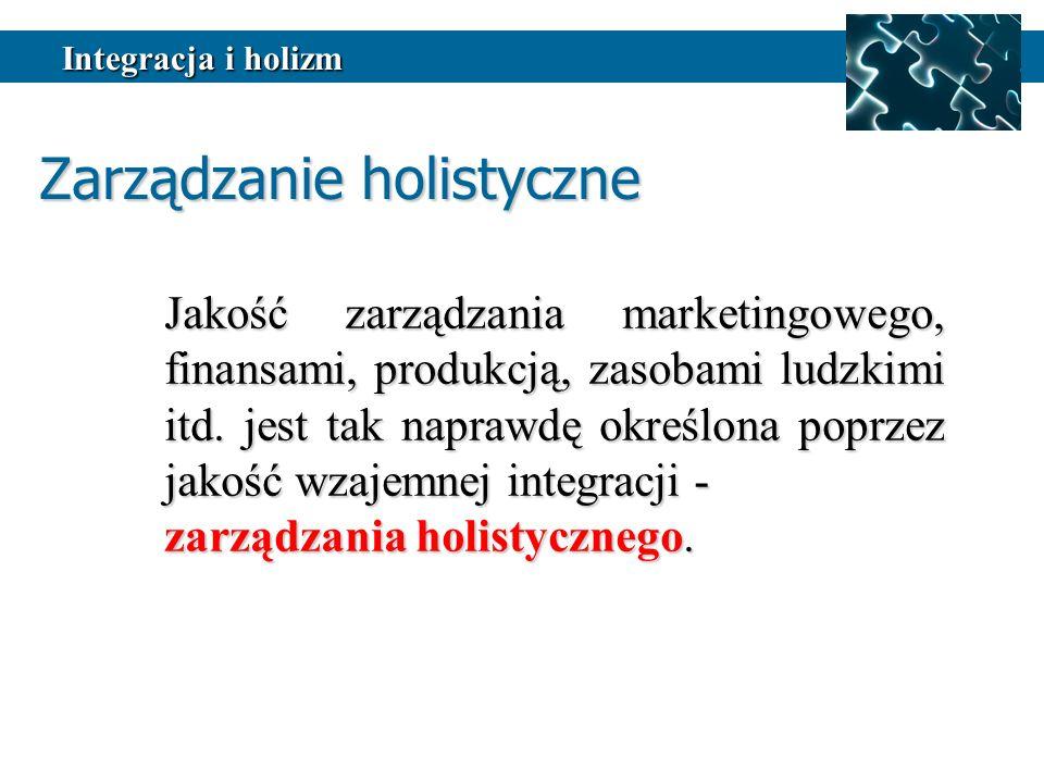 Zarządzanie holistyczne