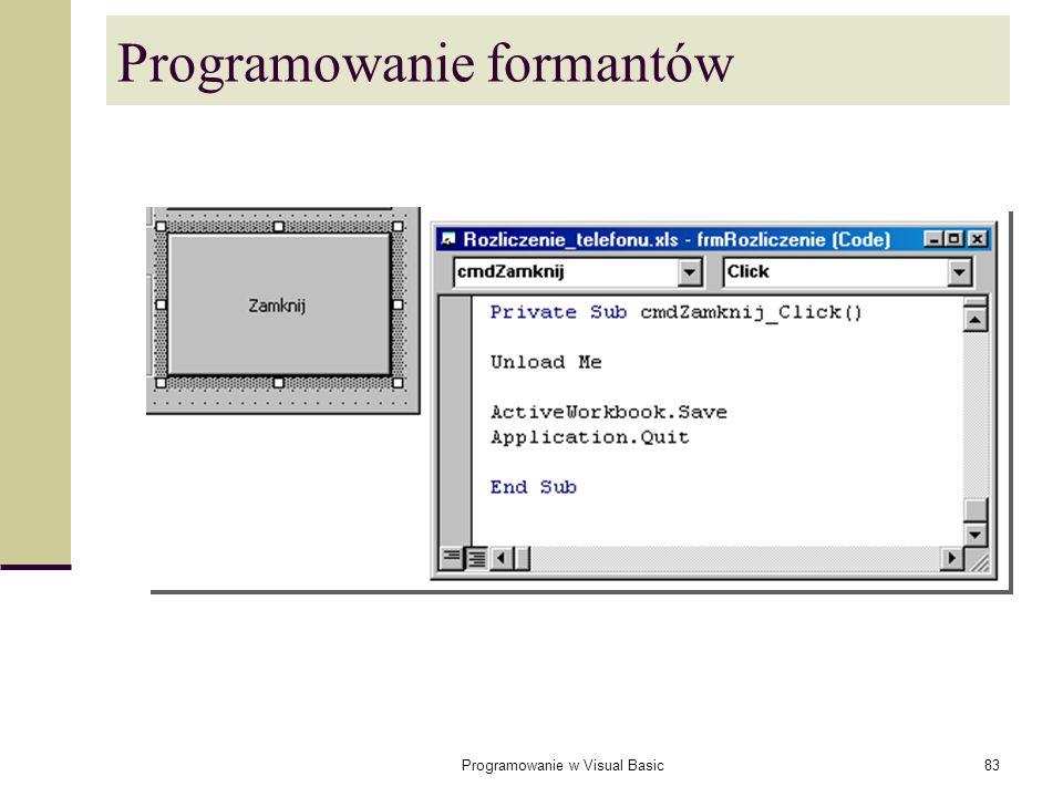 Programowanie formantów