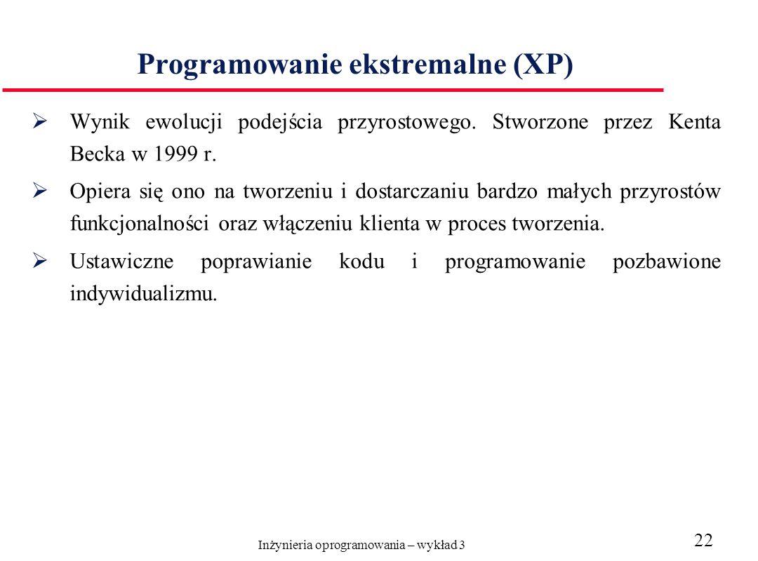 Programowanie ekstremalne (XP)