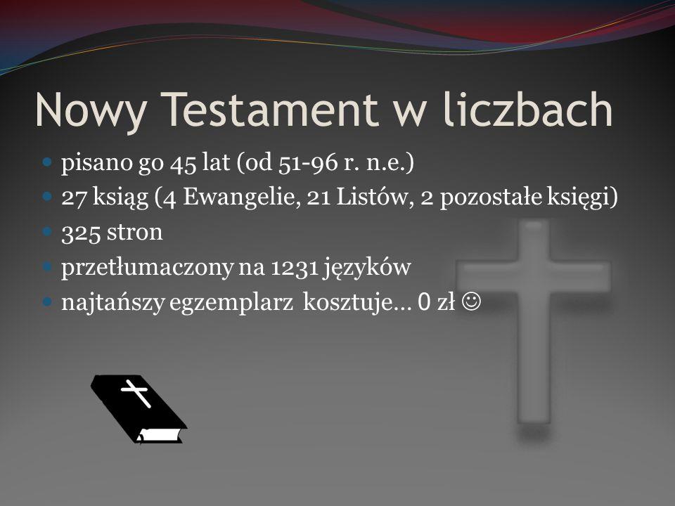 Nowy Testament w liczbach