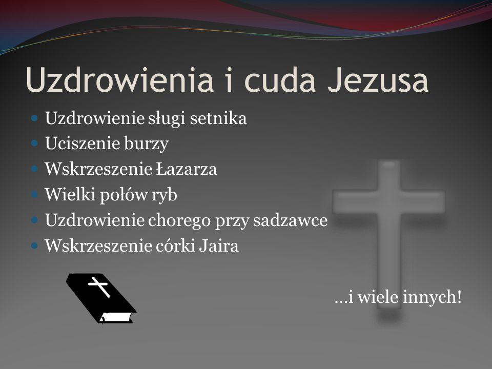 Uzdrowienia i cuda Jezusa