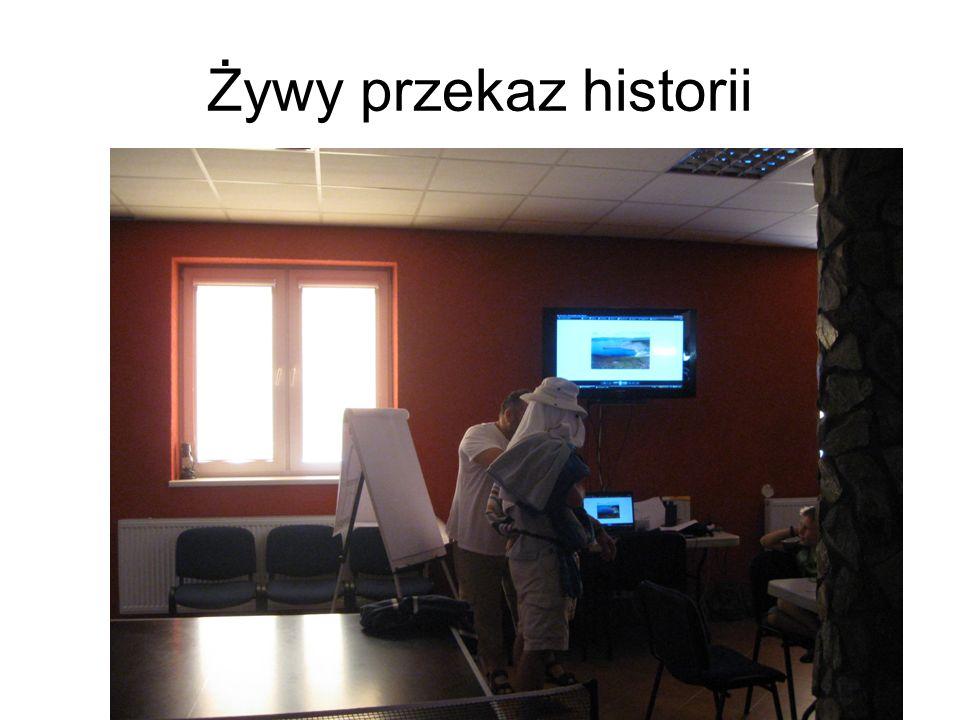 Żywy przekaz historii