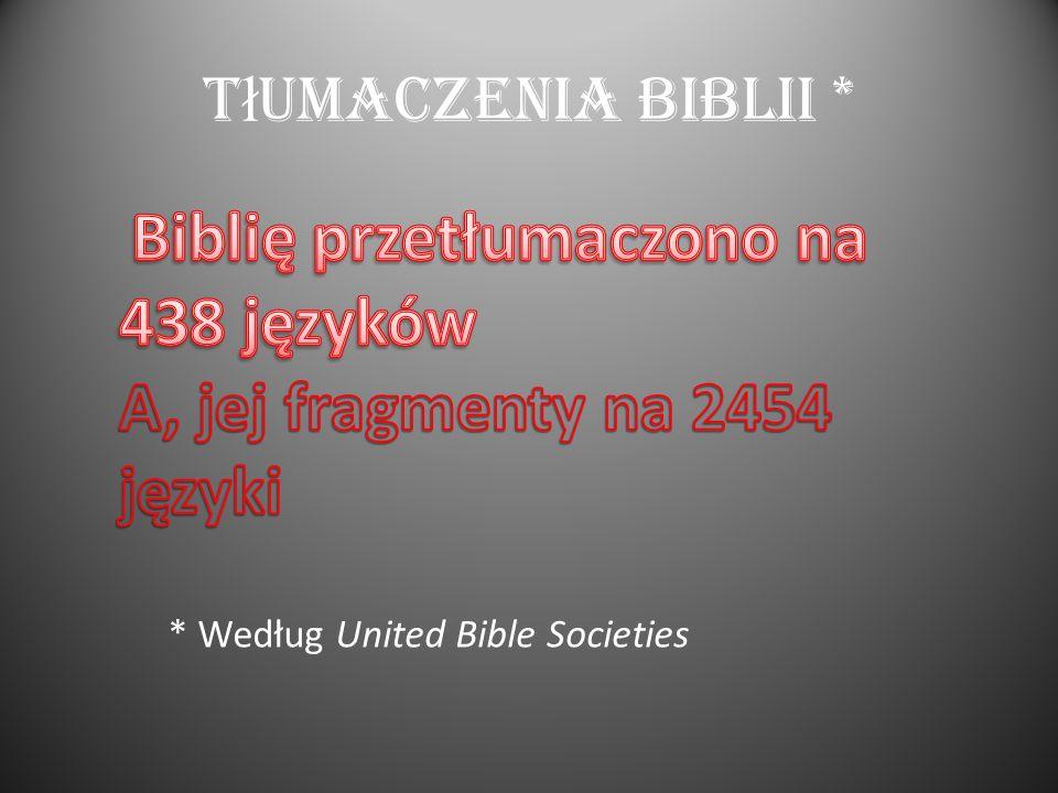 A, jej fragmenty na 2454 języki