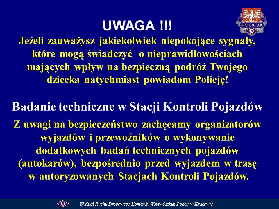 UWAGA !!! Badanie techniczne w Stacji Kontroli Pojazdów