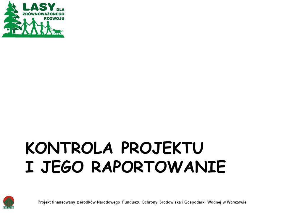 Kontrola projektu i jego raportowanie