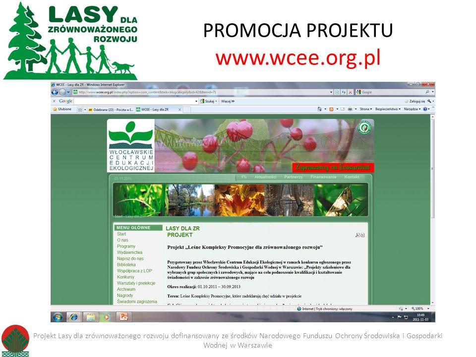 PROMOCJA PROJEKTU www.wcee.org.pl