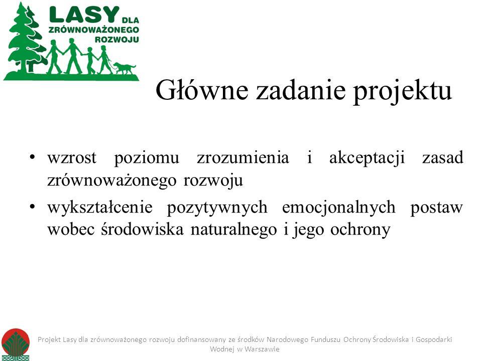 Główne zadanie projektu