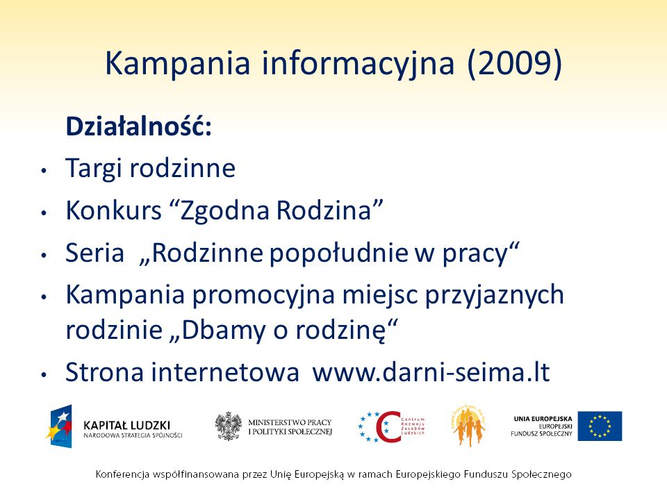 Kampania informacyjna (2009)